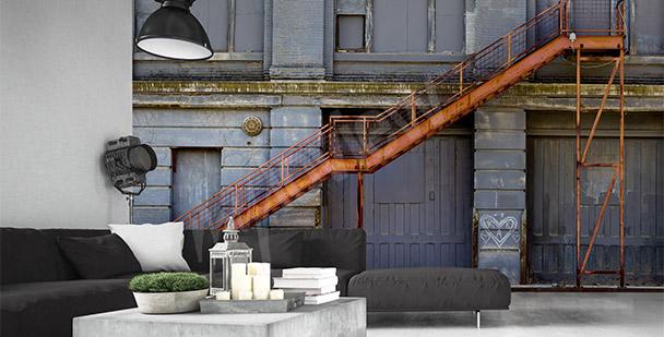 Fototapeta ze schodami przestrzenna