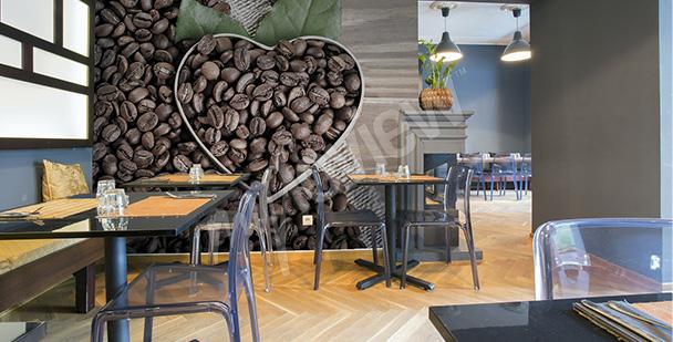 Fototapeta ziarna kawy 3d