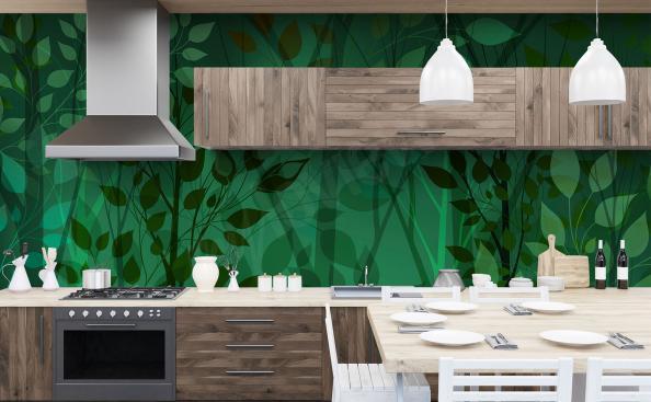 Fototapeta zieleń do kuchni