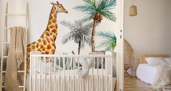 Fototapety dla niemowląt - najciekawsze motywy