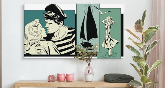Fototapety, plakaty i obrazy pop art - inspiracje