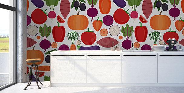 Fototoapeta warzywa do kuchni