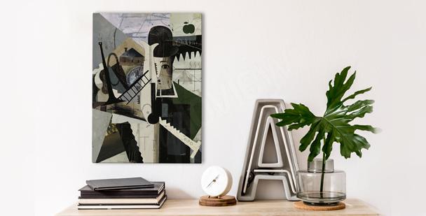 Obraz kubizm de La Fresnaye