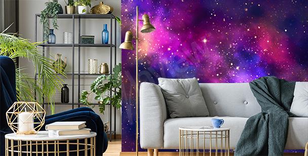 Galaktyczna fototapeta do salonu