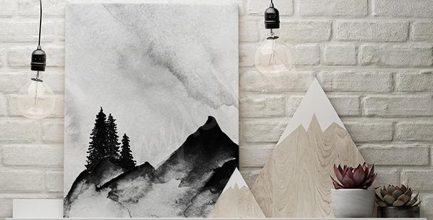 Górski obraz minimalizm