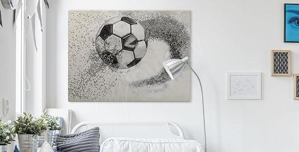 Graficzny obraz z piłką