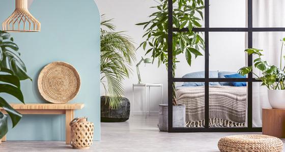 Jak oddzielić sypialnię od salonu? Zdjęcia przykładowych aranżacji