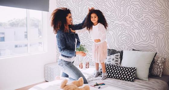 Jasne tapety do sypialni – ranking najciekawszych rozwiązań