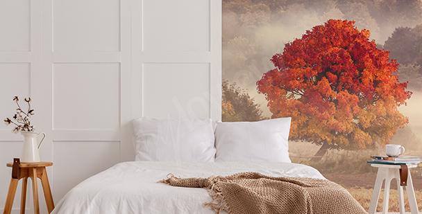 Jesienna fototapeta z krajobrazem