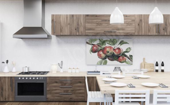 Kuchenny obraz z jabłkami