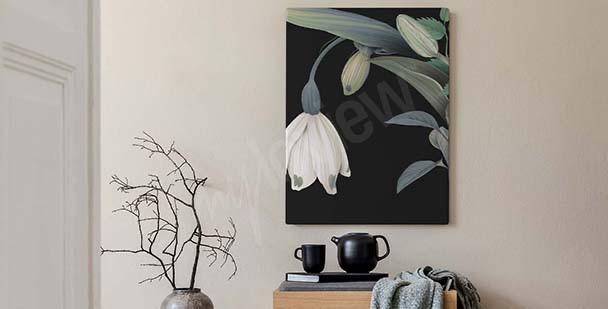 Obraz tulipany do sypialni
