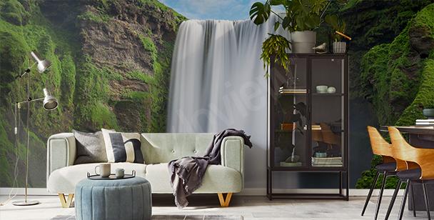 Majestatyczna fototapeta wodospad