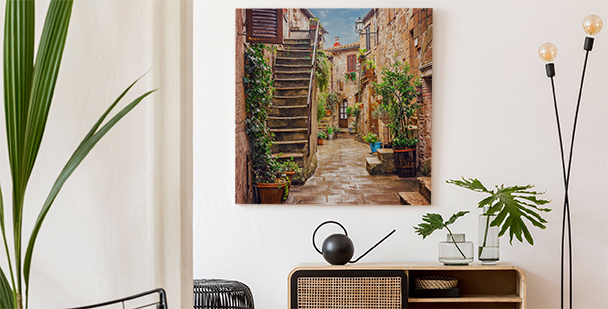 Malowniczy obraz Toskania