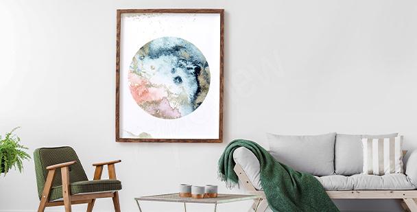 Plakat kosmos dla nastolatka