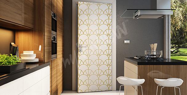 Naklejka dekoracyjna na drzwi
