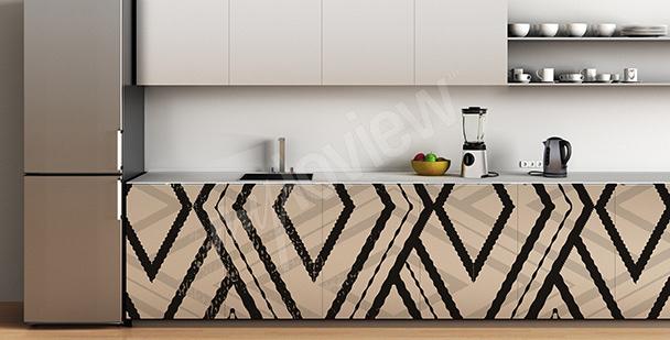 Naklejka dekoracyjna na kuchenne szafki