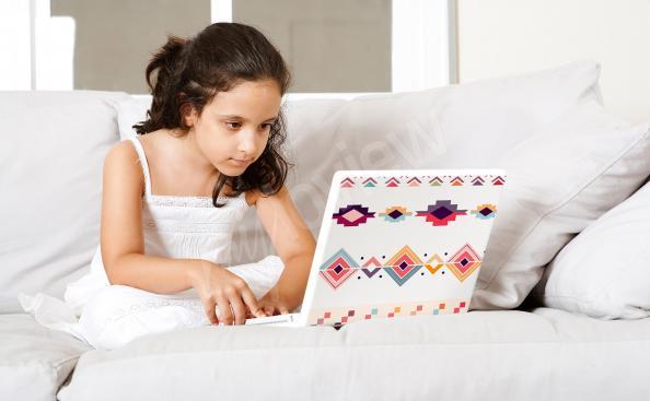 Naklejka dekoracyjna na laptopa