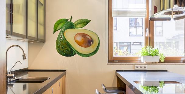 Naklejka kiść winogron do kuchni