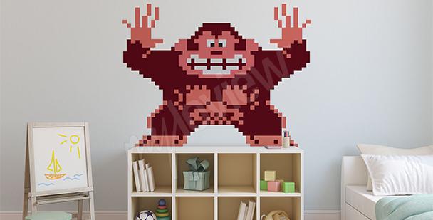 Naklejka Donkey Kong