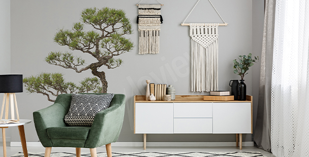 Naklejka drzewo bonsai
