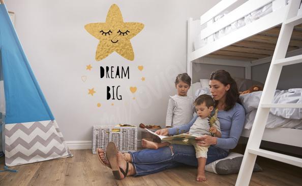 Naklejka gwiazdy do pokoju dziecka