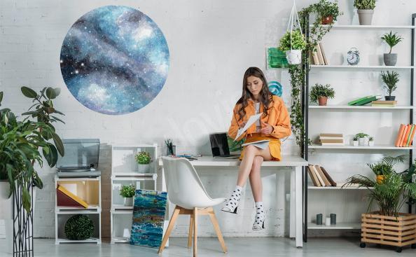 Naklejka kosmos do biura