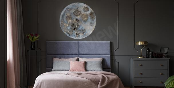 Naklejka kosmos do sypialni