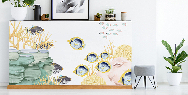 Naklejka morskie zwierzęta