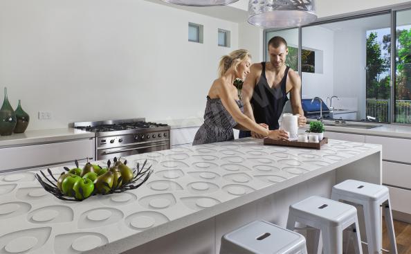 Naklejka motyw 3D na blat kuchenny