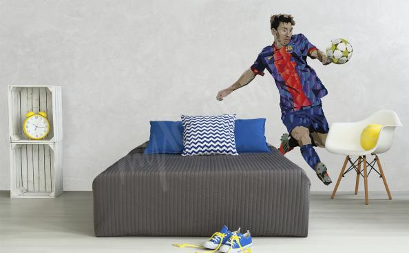 Naklejka piłka nożna Leo Messi