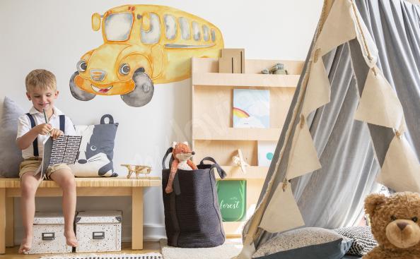 Naklejka pojazd do pokoju dziecka