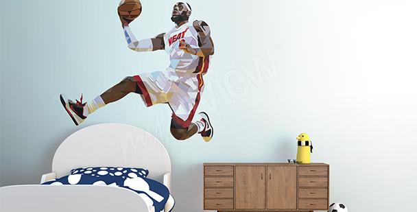 Naklejka sportowa LeBron James