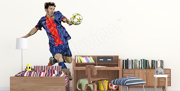 Naklejka sportowa Leo Messi