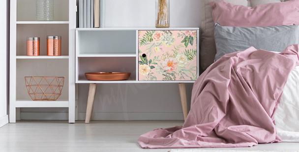 Naklejka styl floral