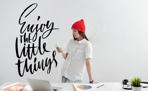 Naklejka typograficzna dla nastolatka