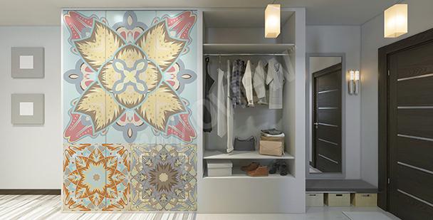 Naklejka w stylu arabskim na szafę