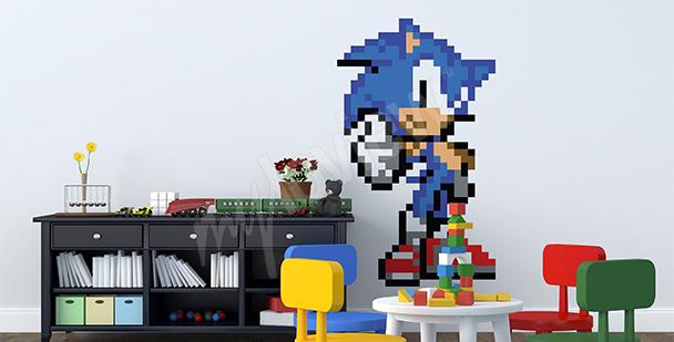 Naklejka z gry Sonic R