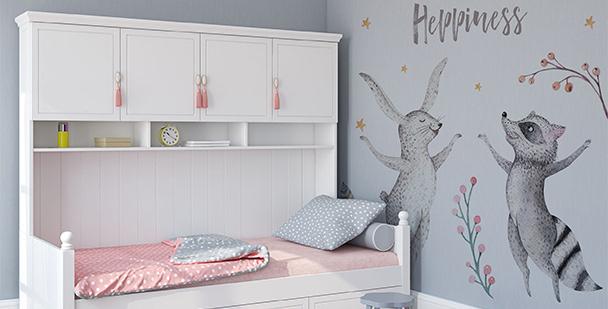 Naklejka zwierzęta do pokoju dziecka