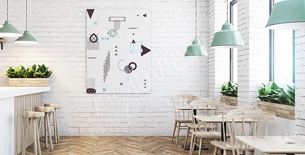 Nowoczesny obraz minimalistyczny