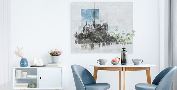 Nowoczesny obraz Paryż