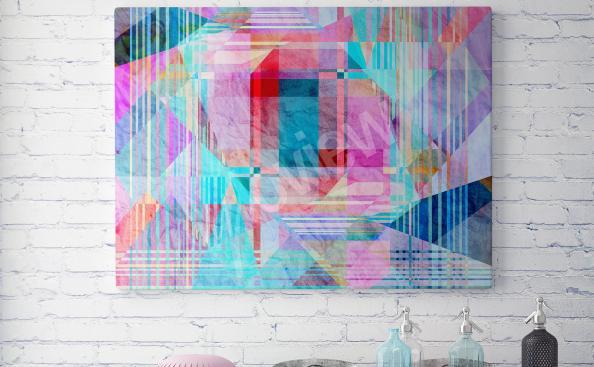 Obraz abstrakcja kolorowa