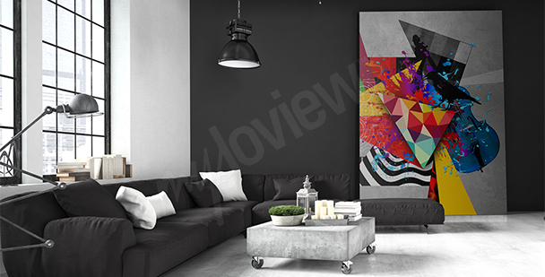Obraz abstrakcja nowoczesna