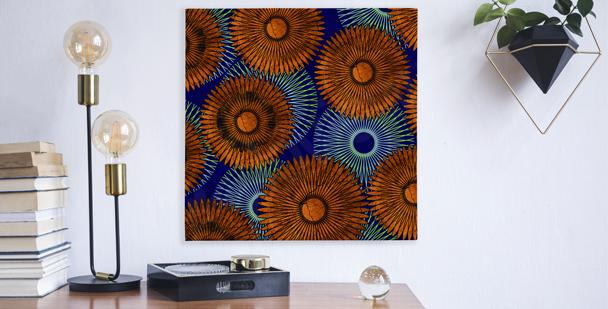 Obraz kompozycja ze słonecznikami