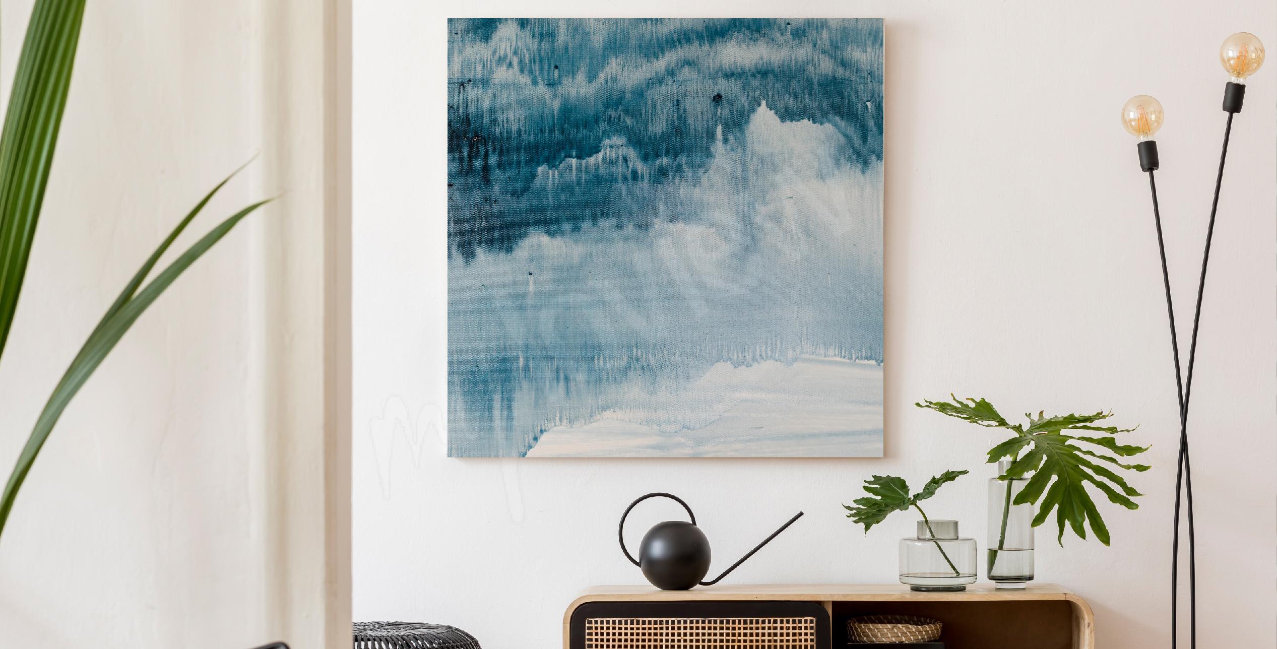 Obraz abstrakcyjne malarstwo