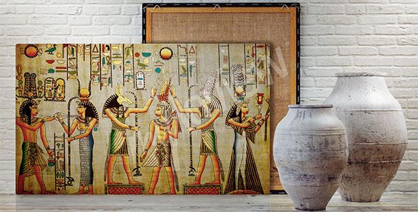 Obraz Afryka motywy egipskie