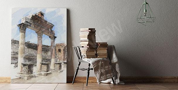 Obraz architektura antyku
