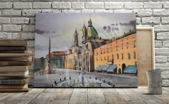 Obraz architektura Piazza Navona