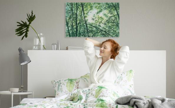 Obraz bambus do sypialni