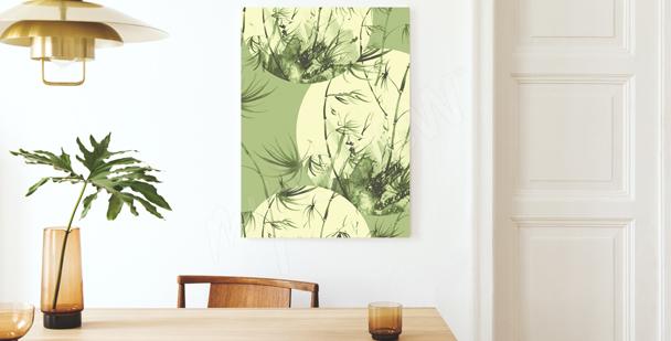 Obraz bambus w pastelach