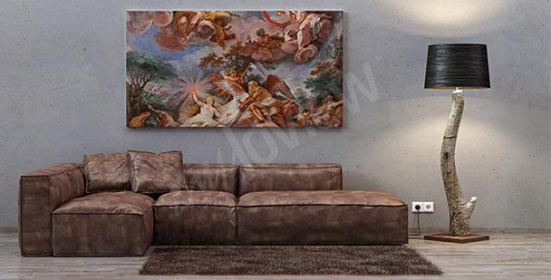Obraz barok włoski do salonu